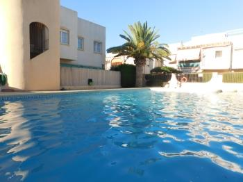 Bungalow en residencial con piscina - Appartement à Denia